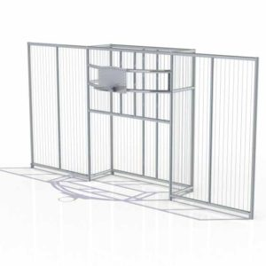 687d913b Backstop 8×4 m with 4020